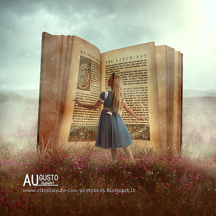 Magic Book by AugustoDigitalArt