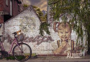 Street Art by AugustoDigitalArt