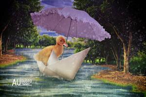 Little Duck by AugustoDigitalArt