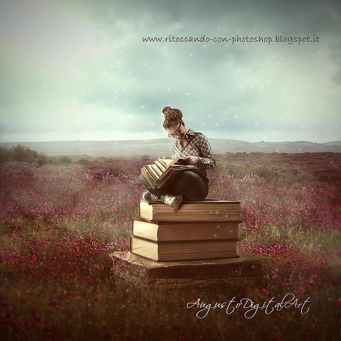 Freedom to read by AugustoDigitalArt