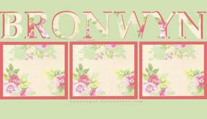 Bronwyn's Floral Layout