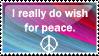 I Wish for Peace by yotaka