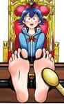 Iruma Suzuki tickled