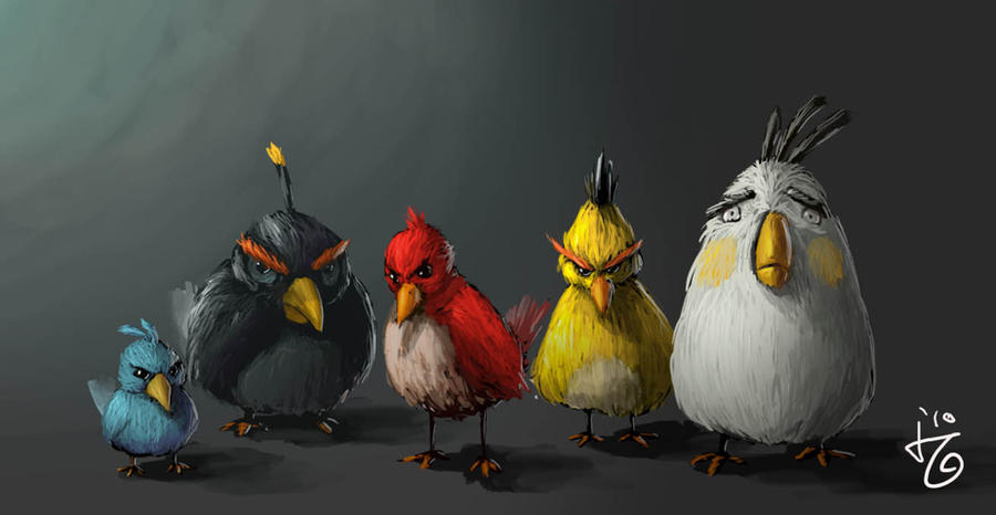 angry birds by ijul