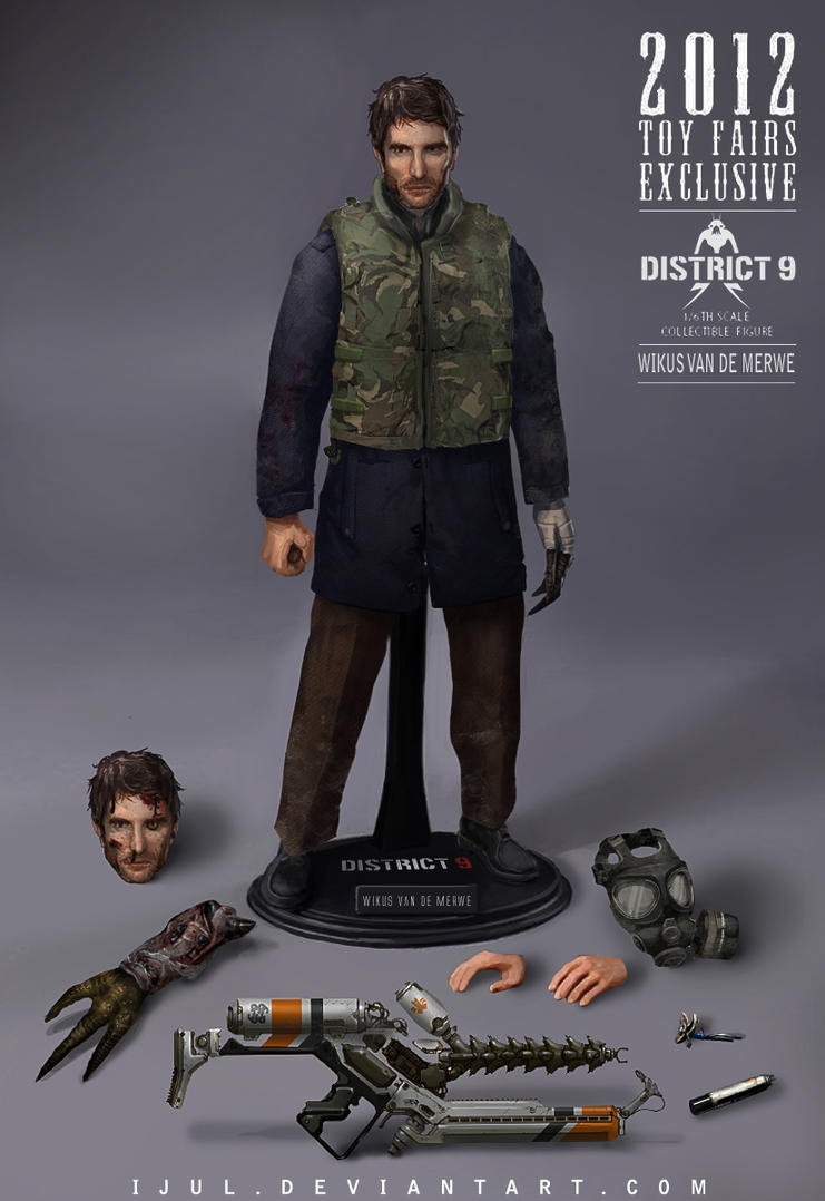 wikus van de merwe  1/6th scale collectible figure by ijul