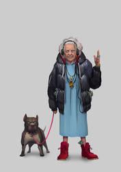 Bad Grandma by ijul