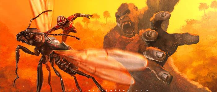 Ant-Man vs King Kong