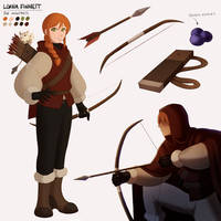 Lorna || TLF Sheet by Covarche
