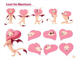 Lovel the Manticore by Covarche