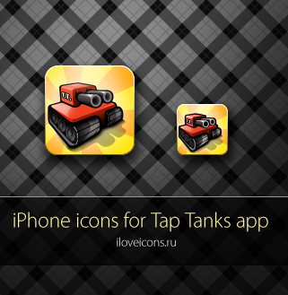 iPhone icon for Tap Tanks by i-love-icons