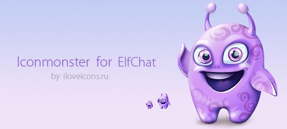 Iconmonster fot ElfChat