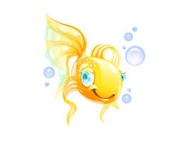Goldfish by i-love-icons