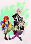 Danny Phantom Squad by CarolineEPhipps