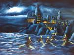 Hogwarts castle by ElizabethHolmes