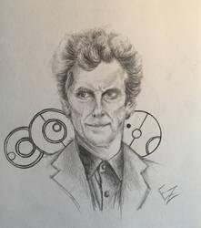 Twelfth Doctor-Peter Capaldi by ElizabethHolmes