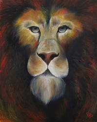 Aslan by ElizabethHolmes