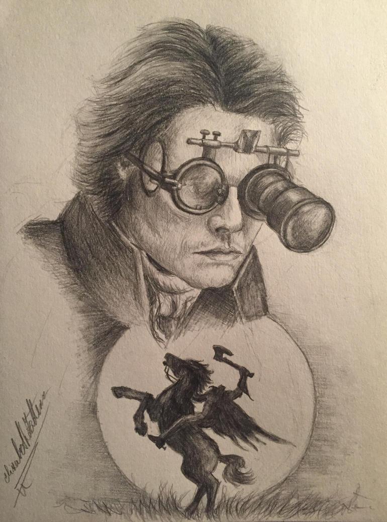Ichabod Crane-Johnny Depp by ElizabethHolmes