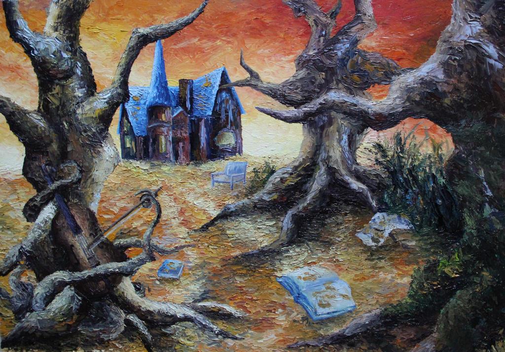 Spirits of the Dead by ElizabethHolmes