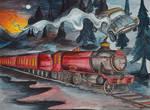 Hogwarts Express by ElizabethHolmes