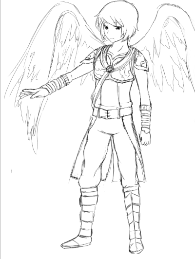 Rayhak Angel Costume by Rayhak