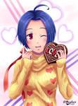 Azusa Miura  - Happy Valentine's day!