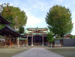 Ushijima shinto shrine 1 by afsan-deviant