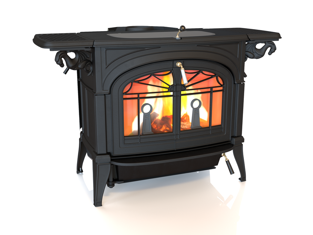 Cast Iron Stove final by afsan-deviant