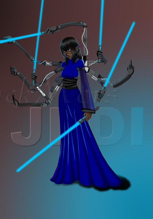Jedi Master Naal'suul by BlackMors on DeviantArt