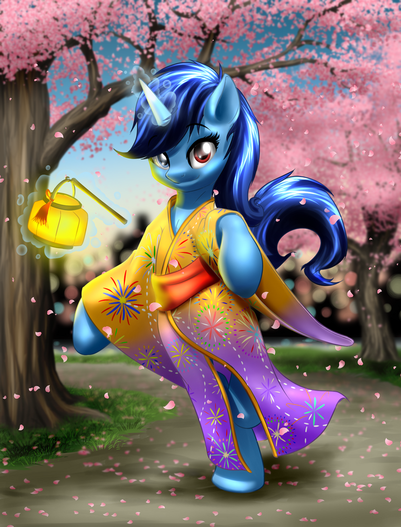 Flashshot (R63 form) in a Yukata by Smbzoo448