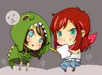 Lillchan and Yasha by Lillkun