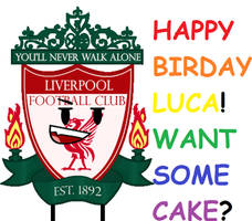 Happy birthday, Luca! Hope you have a great one!