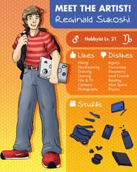 Meet the Artist - Reginald Sukoshi