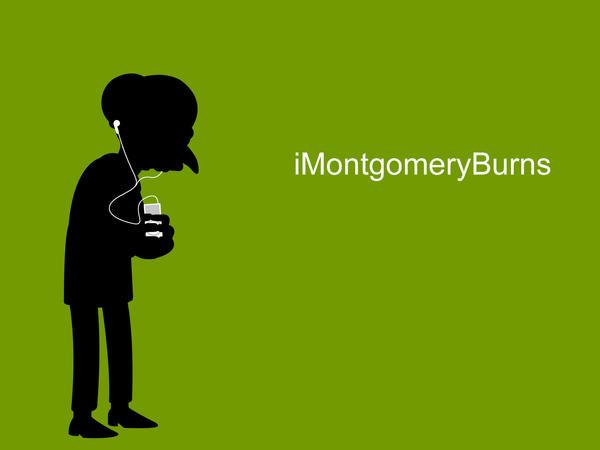 iMontgomeryBurns by motadacruz