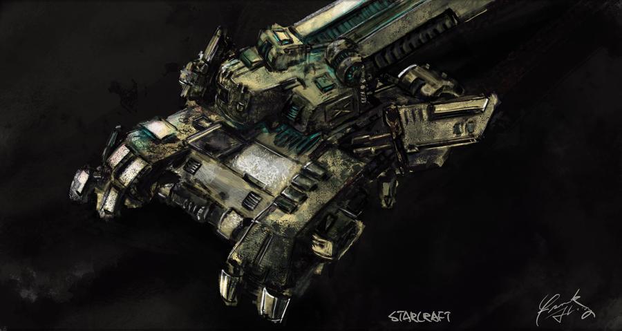 Siege Tank_WIP by frankhong