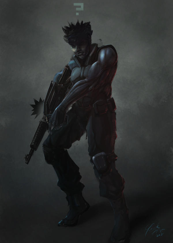 Solid Snake by frankhong
