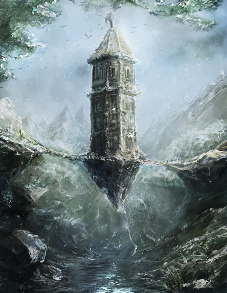 """""""Elf Tower"""" by frankhong"""