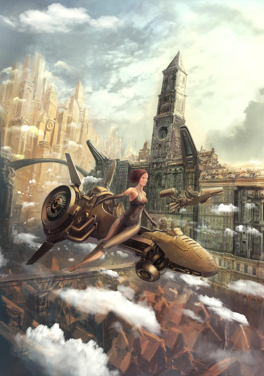 Amazing Steampunk Illustration
