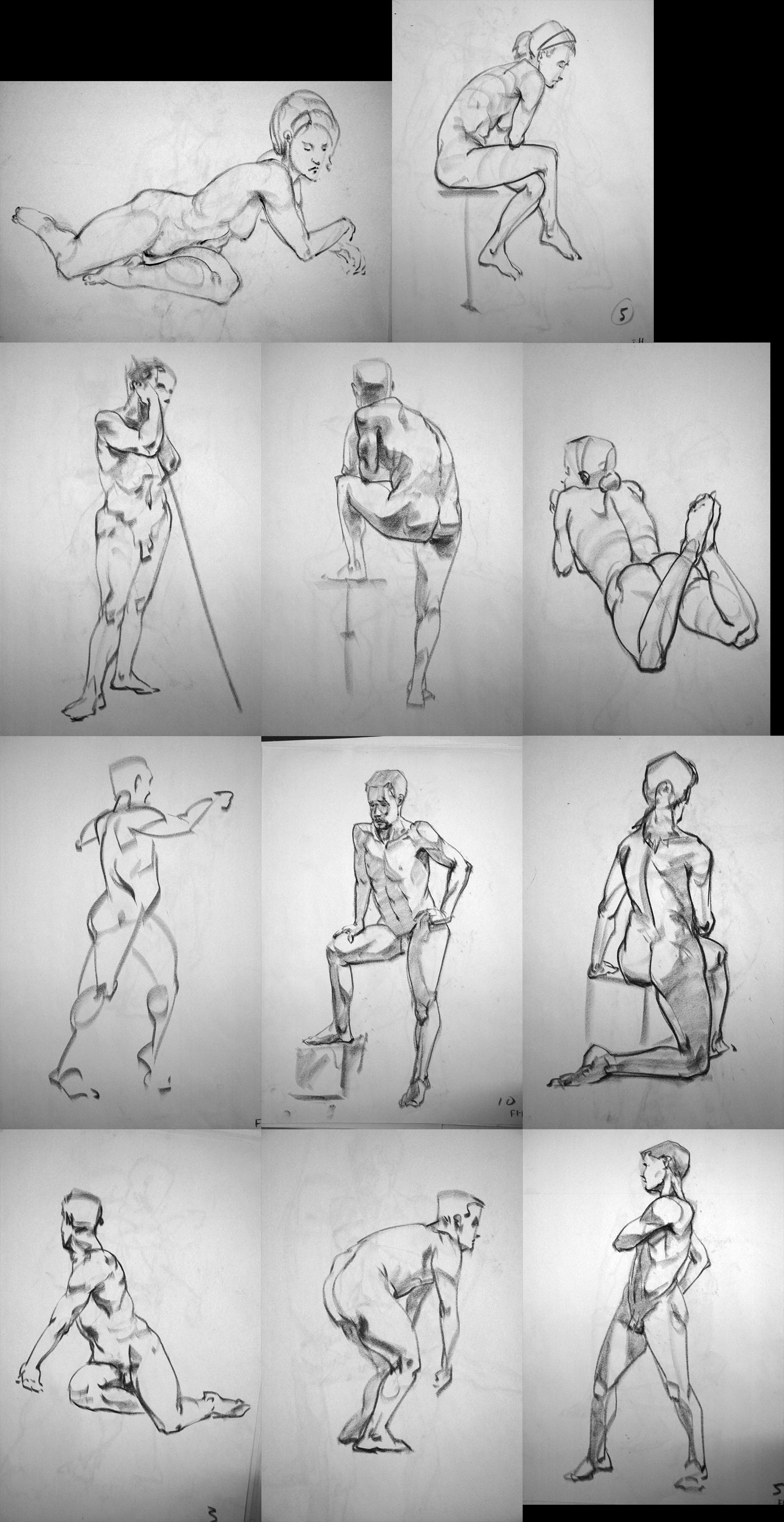 LifeDrawings 1 by frankhong