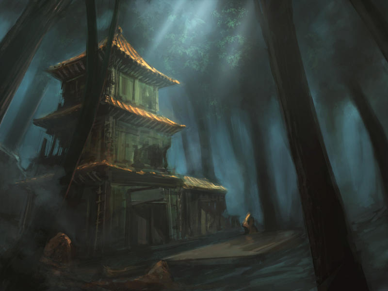 Shrine Ruins, Day by frankhong