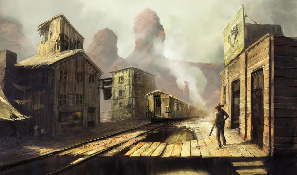 Golden Express by frankhong