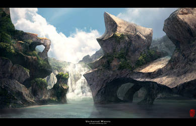 Uncharted Waters-Mattepainting
