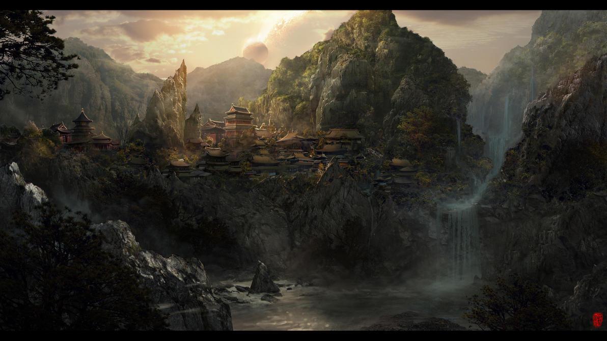 Garden of Zen by frankhong