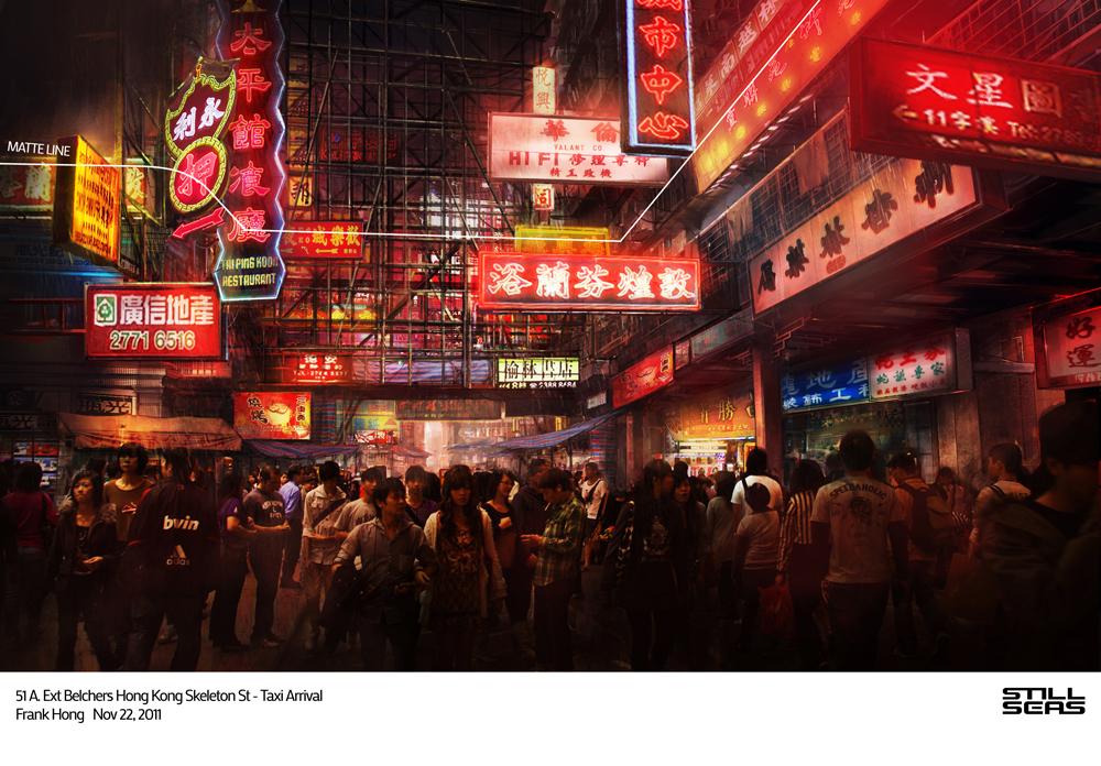 Hongkong scene by frankhong