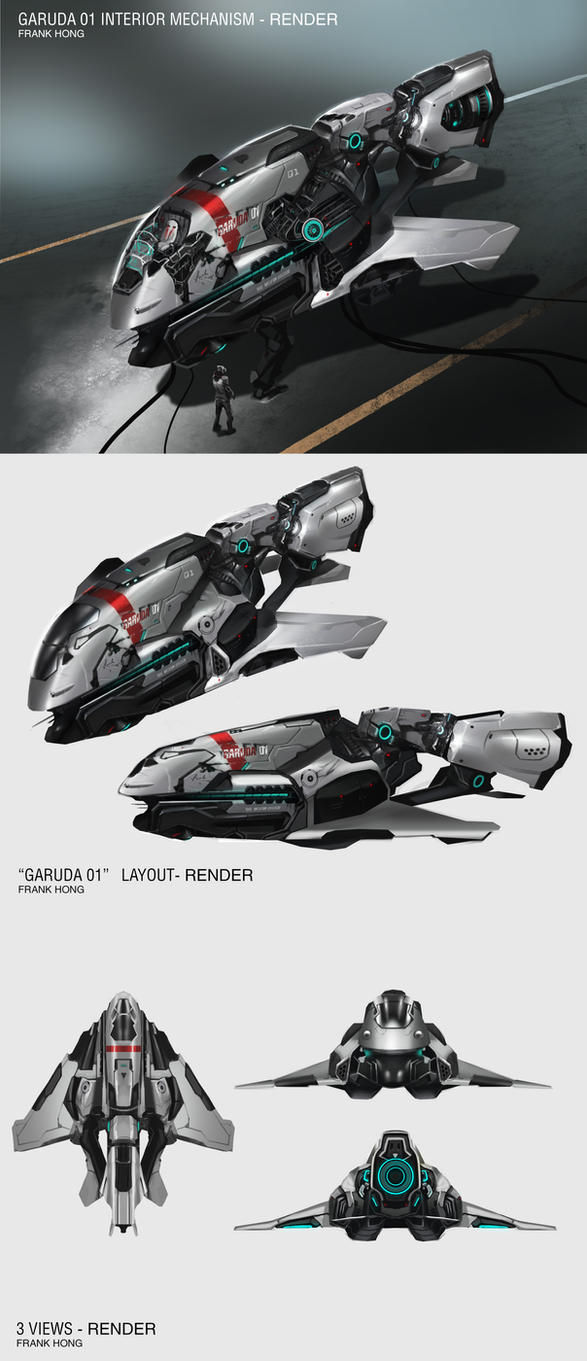 Garuda01 concept by frankhong