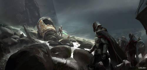 Star Wars Dark Troopers by frankhong