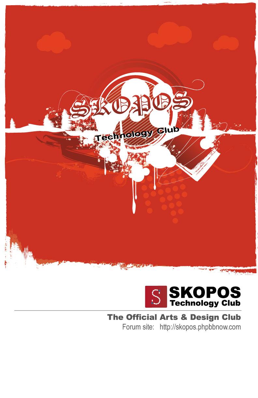 Skopos Tech club poster by frankhong