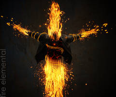 Fire Elemental by LethalIndustries