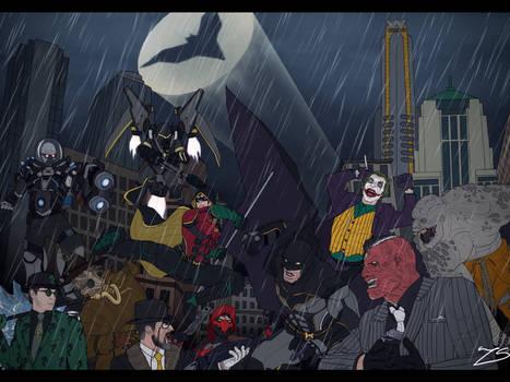 The Fight ( Batman : The Knight )