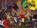 The Justice League vs The Legion of Doom