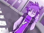 CE: TheReapersInitiation - Neku in Purple by Sonicbandicoot
